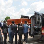 Actos fúnebres de Carmen Mbasogo Nguema Mikue