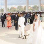 Boda de Hassan Obiang Mangue