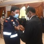 Condecoración a los equipos de ayuda internacional por el 7M