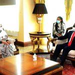 Obiang Nguema Mbasogo y Amira El Fidal el